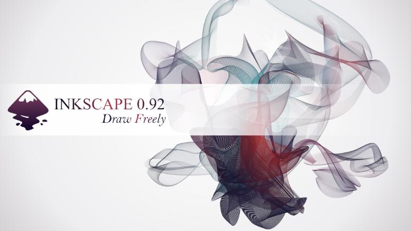 Liberada la nueva versión de Inkscape 0.92.4